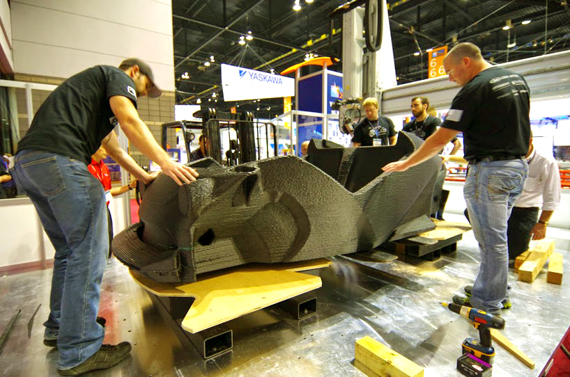 Strati, world's first 3D-printed electric car 6