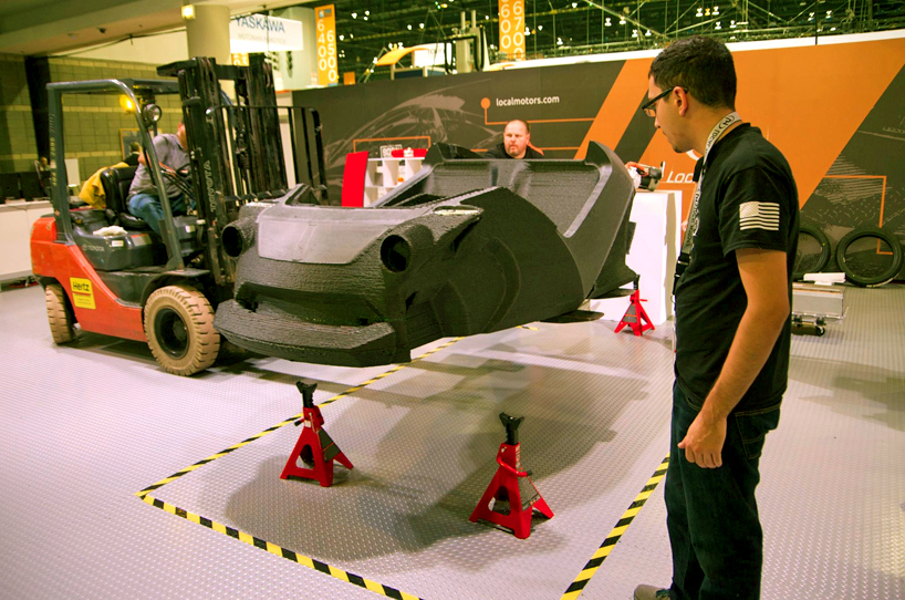 Strati, world's first 3D-printed electric car 7
