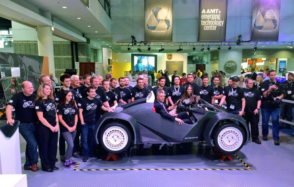 Strati, world's first 3D-printed electric car 12