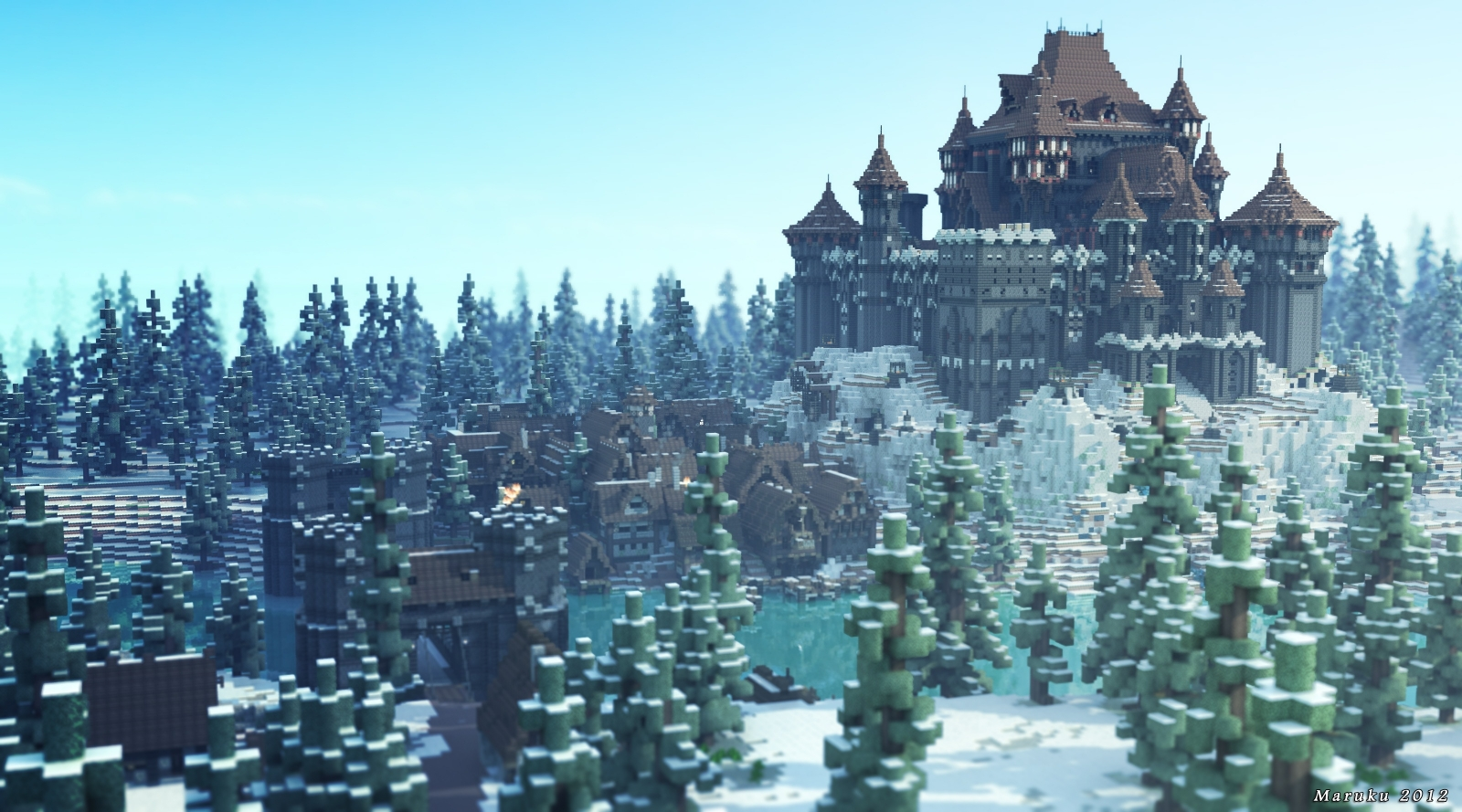 Game of Thrones and Minecraft - Dreadfort