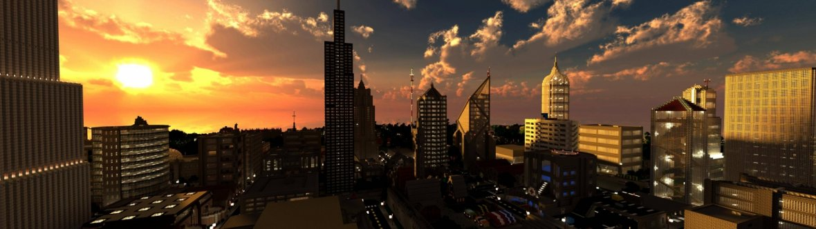 Minecraft City Building Project