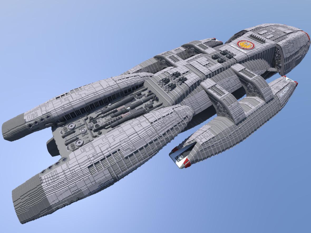 Minecraft Battlestar Galactica