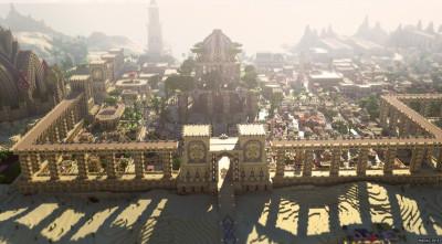 Minecraft Adventure City