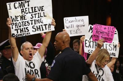 Code Pink protestors 01