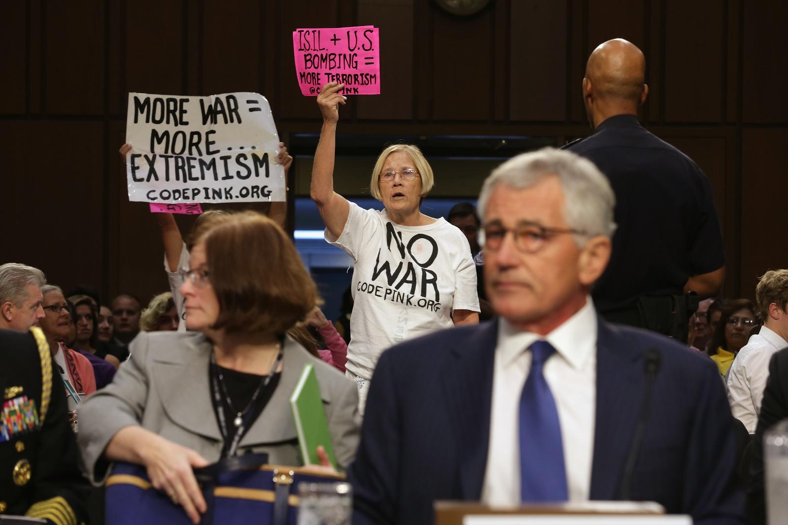 Code Pink protestors 02