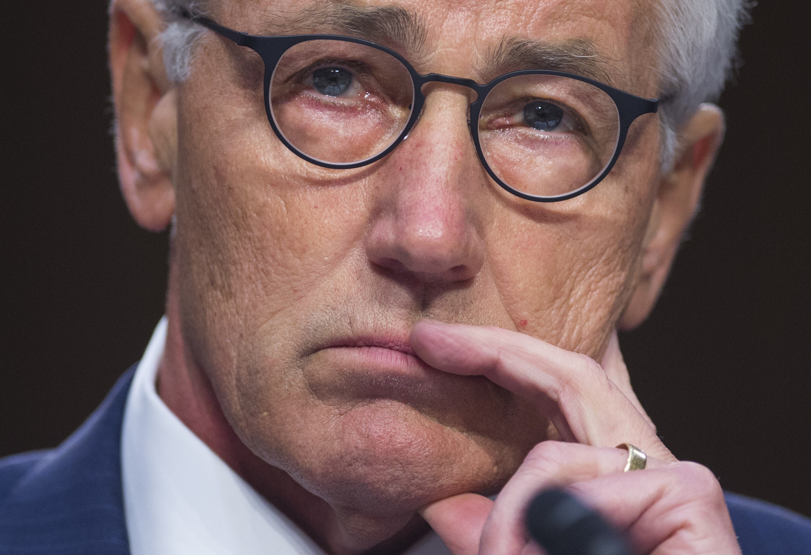 Chuck Hagel testifies