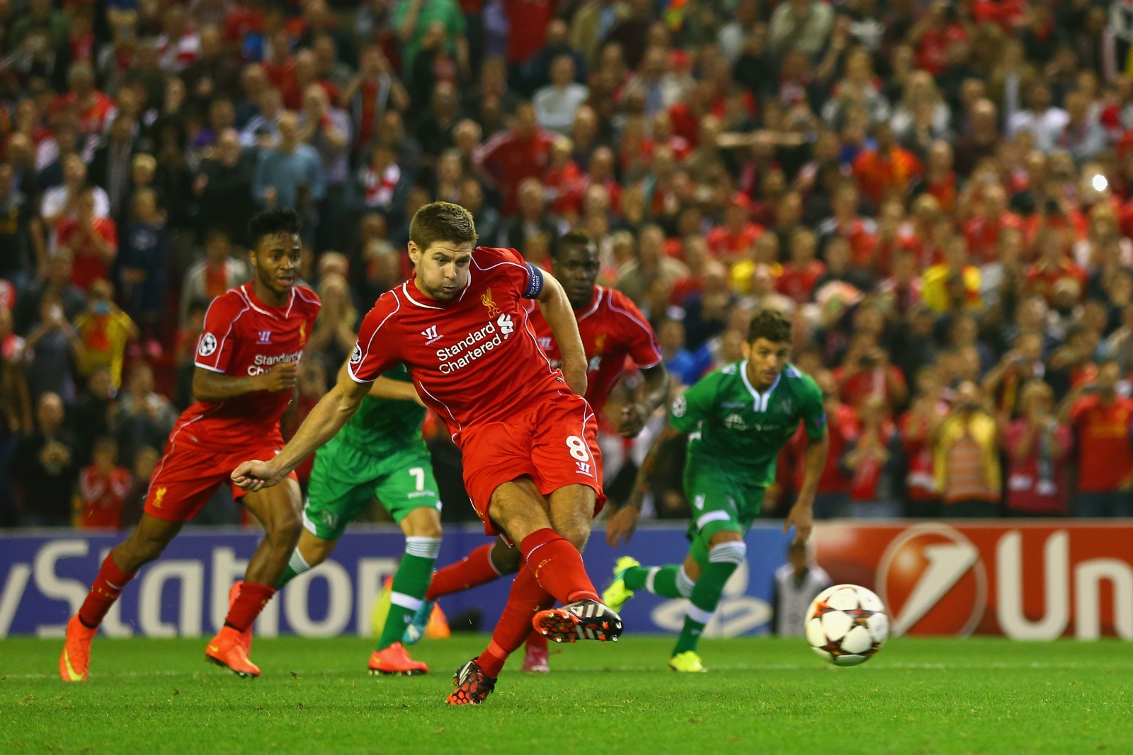 Champions League As It Happened Liverpool 2 1 Ludogorets