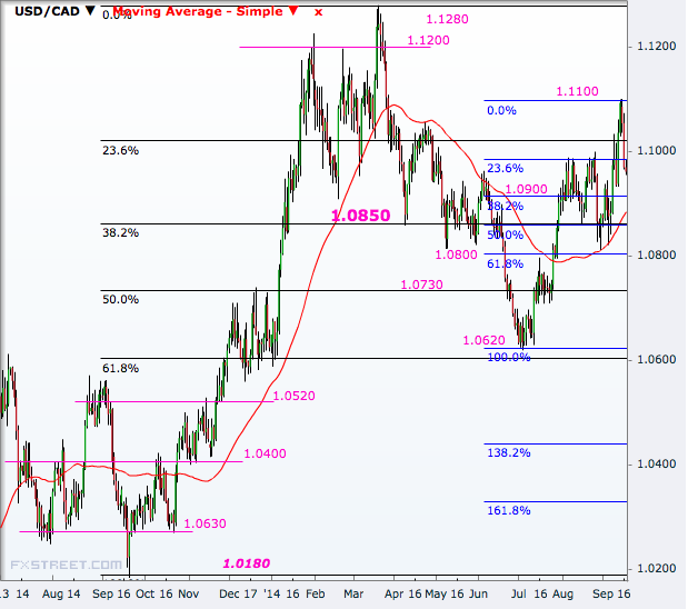 USD/CAD Daily