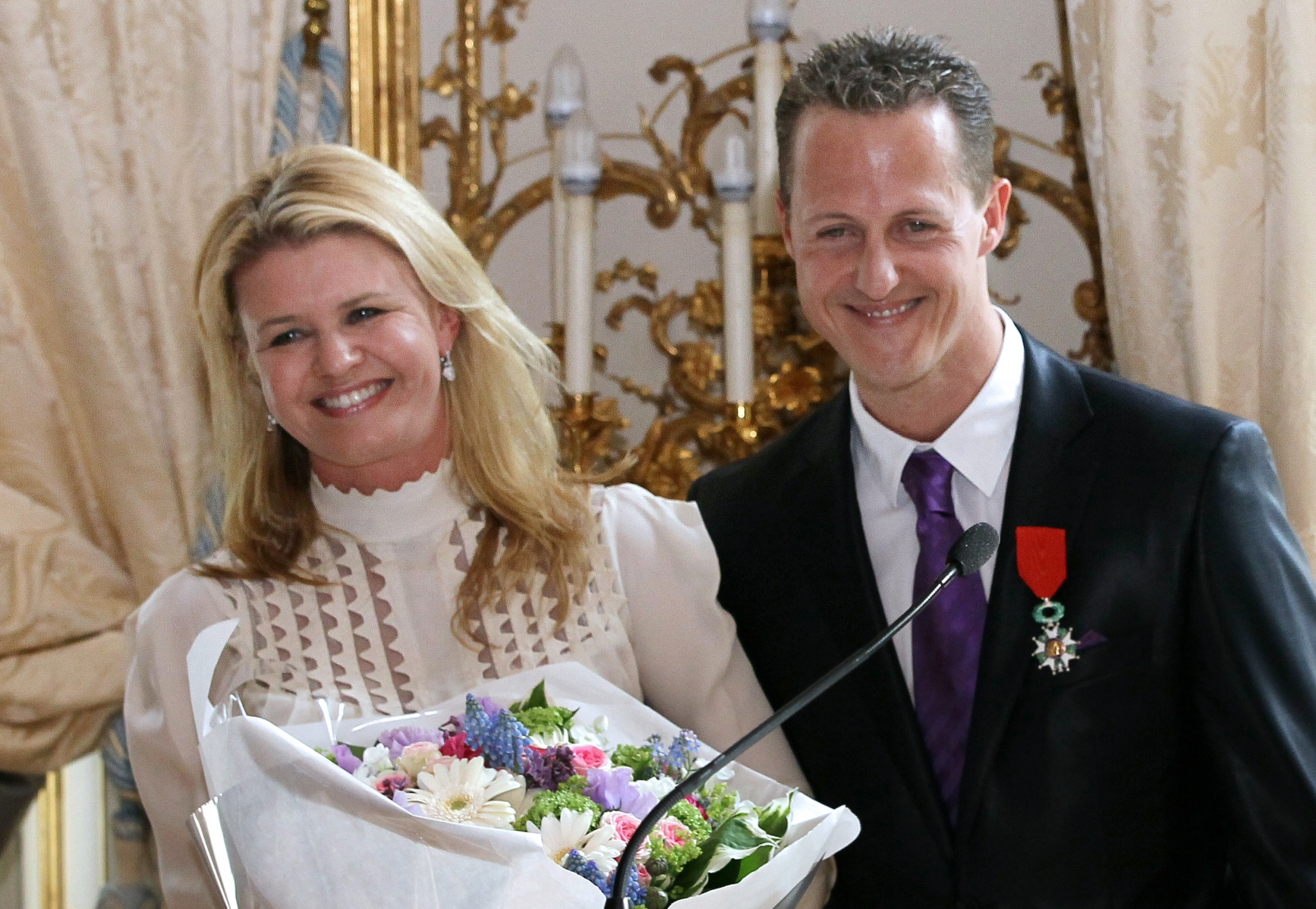 Details Revealed About The Care Michael Schumacher Is Receiving At Home From Wife Corinna And A