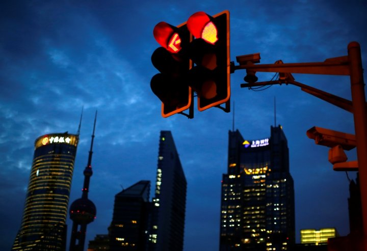 Traffic Lights China