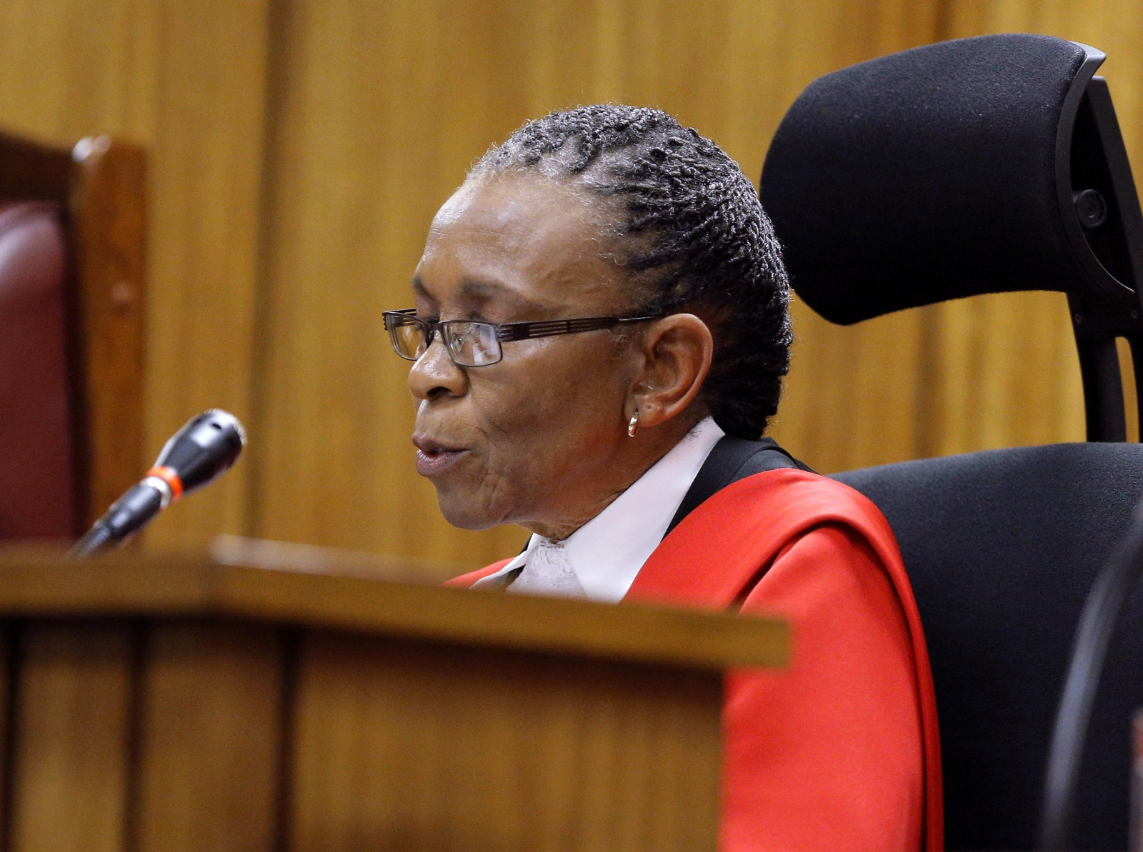 Judge Thokozile Masipa is under police protection from feared police unit following her Oscar Pistorius verdict