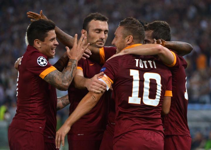 Roma v CSKA Moscow