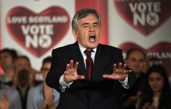 Scottish Independence: Brown and Darling Plead for No Vote as Pro Unionists Lead in Polls