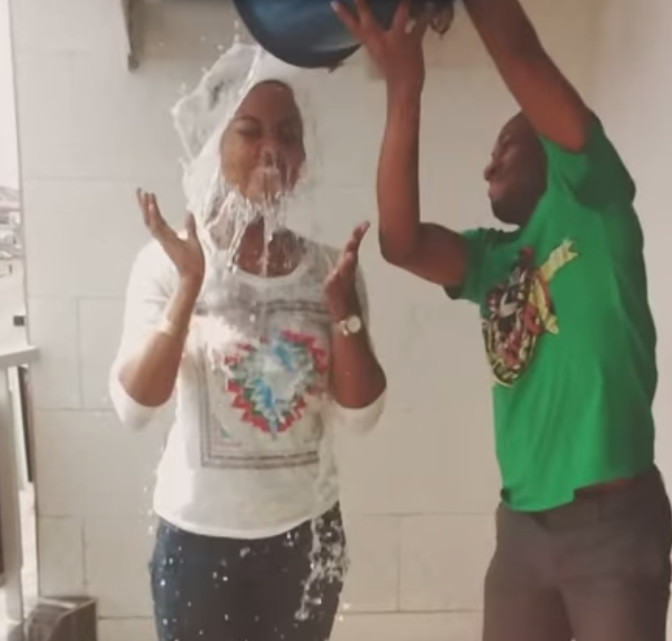Ebola soap bucket challenge