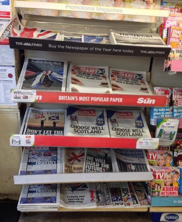 Scottish newspapers