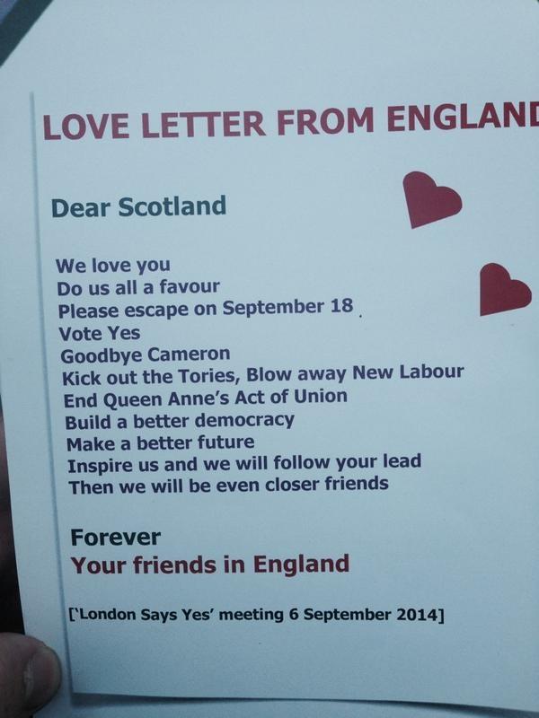 Love letter to Scotland