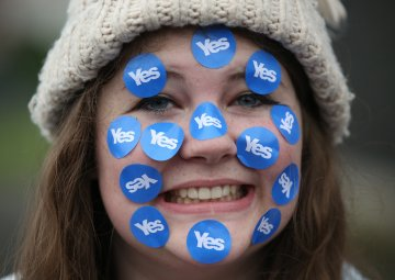 Scottish Independence: The Politics of Cloudy Optimism vs Relentless Negativity