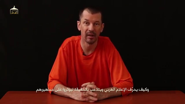 British Reporter John Cantlie in New Islamic State Hostage Video