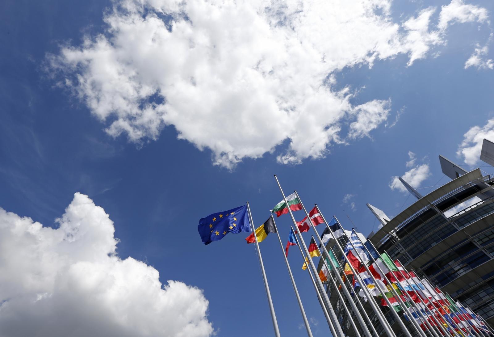 Flags of the EU