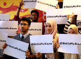 #NotInMyName Campaign
