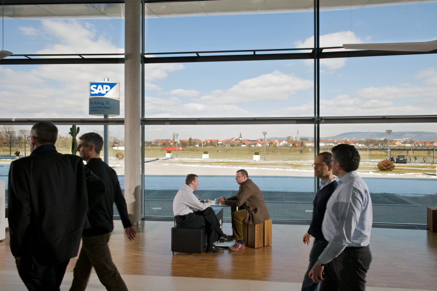 SAP employs people in more than 50 countries around the globe. SAP AG, Walldorf, Germany