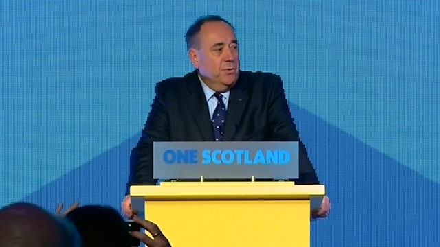 Alex Salmond Concedes Defeat in Scottish Independence Referendum
