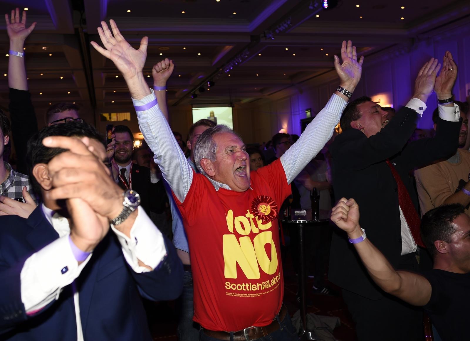 Scotland no voters