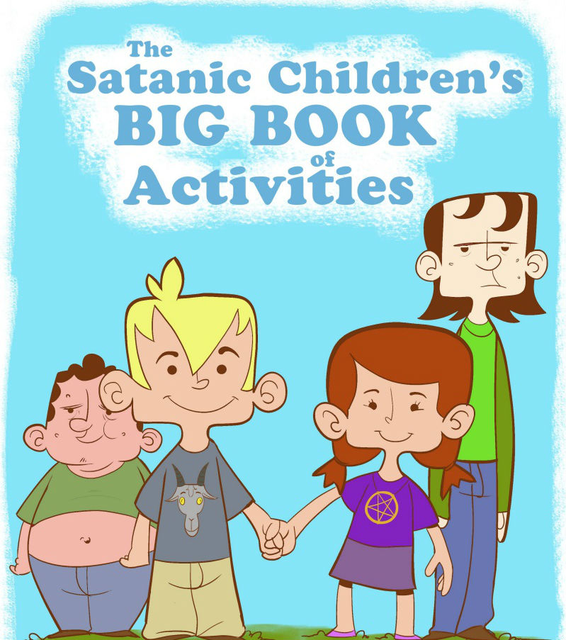 Satan Activity Books for Children: Satanic Group Plans to Distribute Religious Books to Public Schools