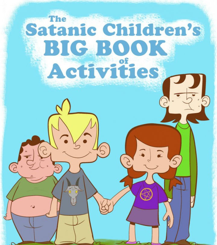 Satan Activity Books for Children: Satanic Group Plans to Distribute Religious Books to Public Schools