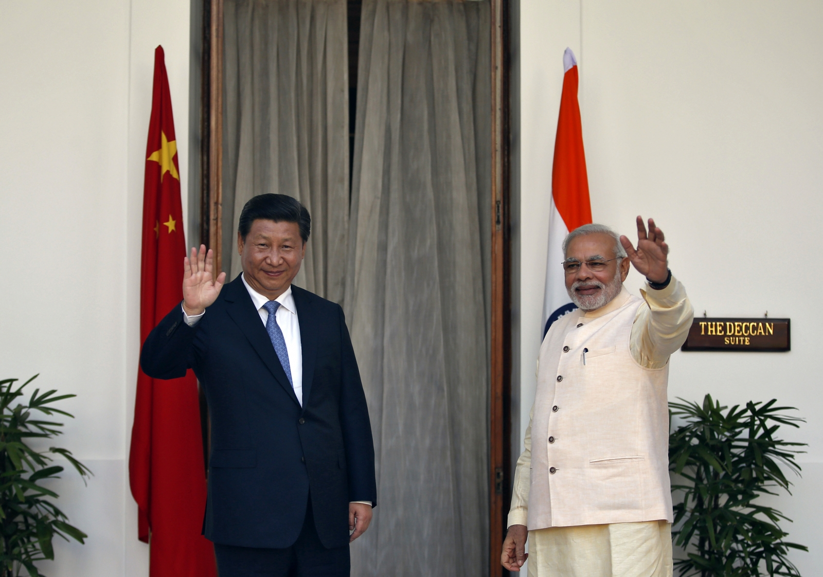 Chinese president Xi Jinping and Doordarshan reader's gaffe