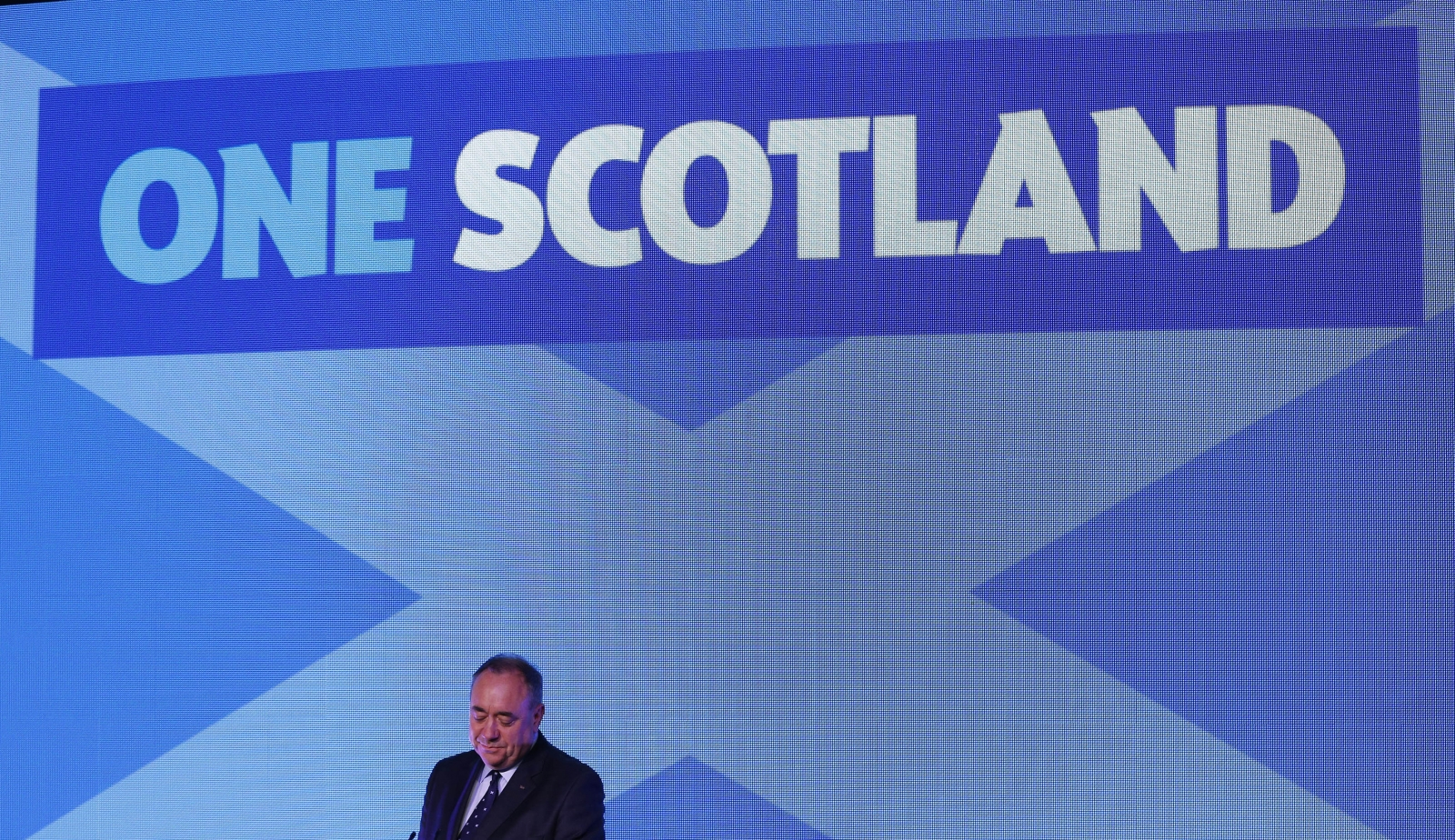 Scotland Independence Results Alex Salmond