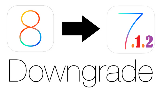 How to Downgrade iOS 8 to iOS 7.1.2 on iPhone, iPad or iPod Touch