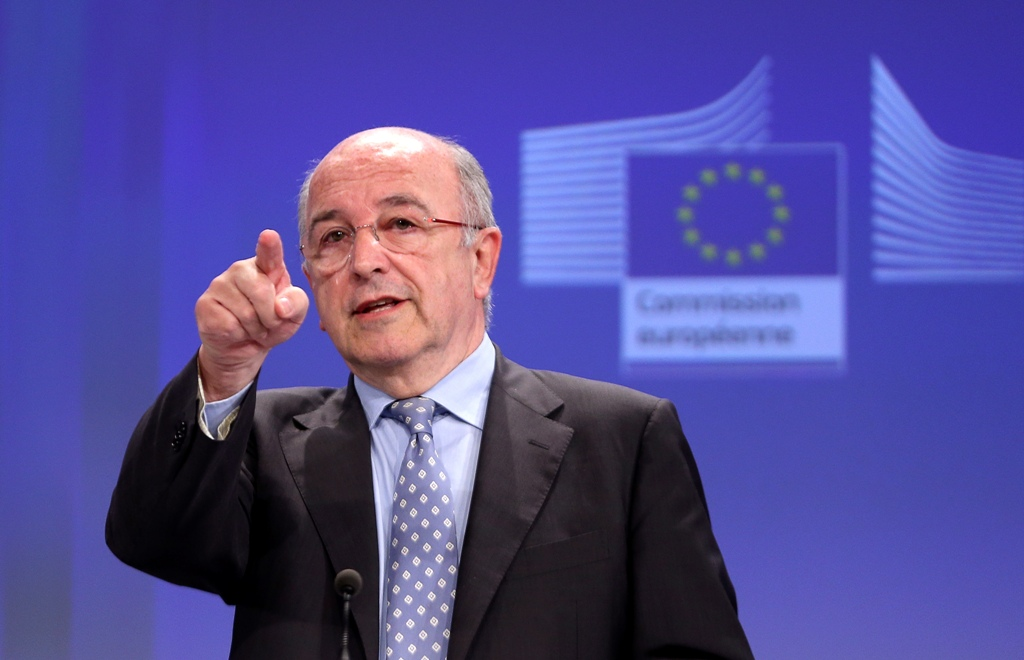 EU's Gazprom Antitrust Probe Will Resume: Joaquin Almunia