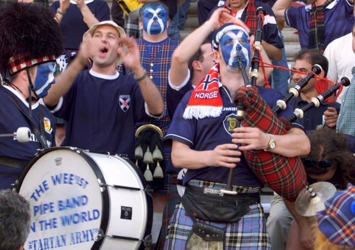 Tartan Army may spurn 'Flower of Scotland' after resounding referendum defeat