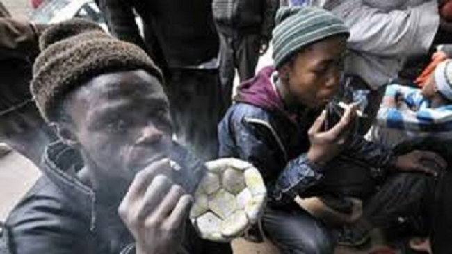 South African street addicts take 'whoonga'