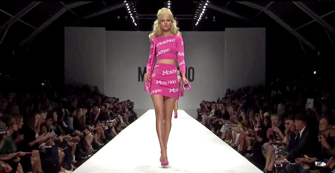 Moschino Barbie Fashion Show 1
