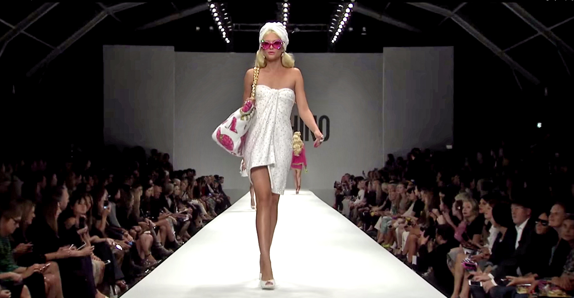 Moschino Barbie Fashion Show 3