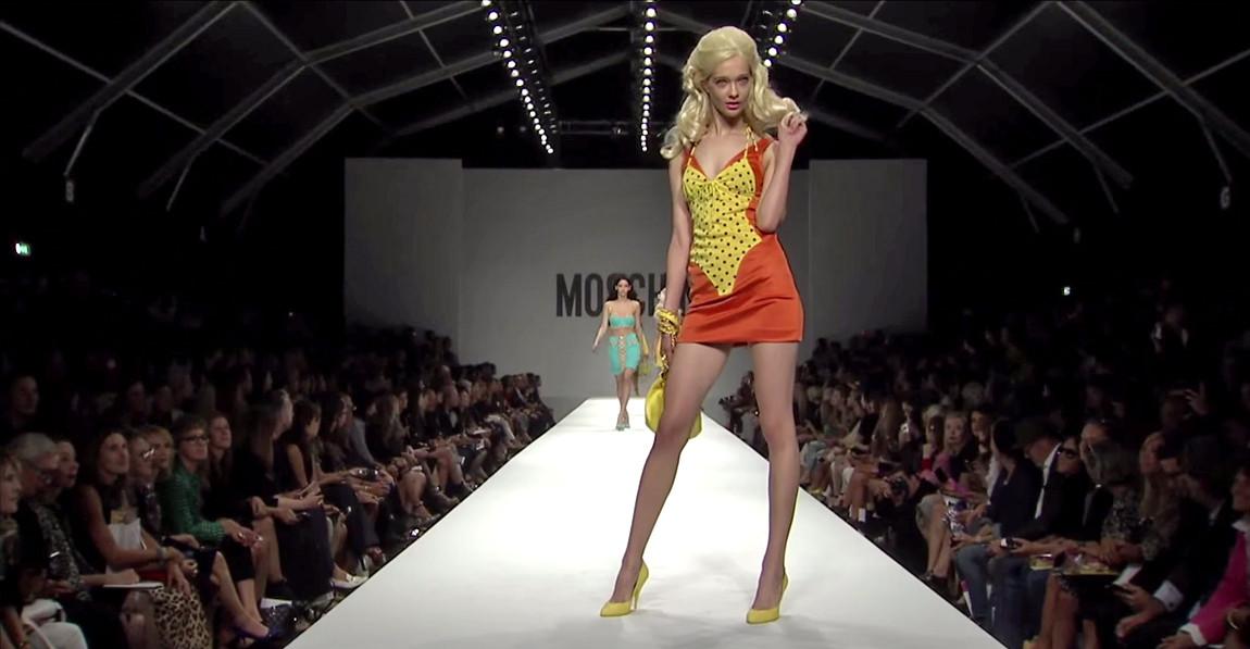 Moschino Barbie Fashion Show 5