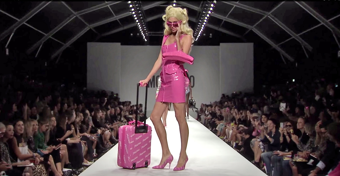 Moschino Barbie Fashion Show 6