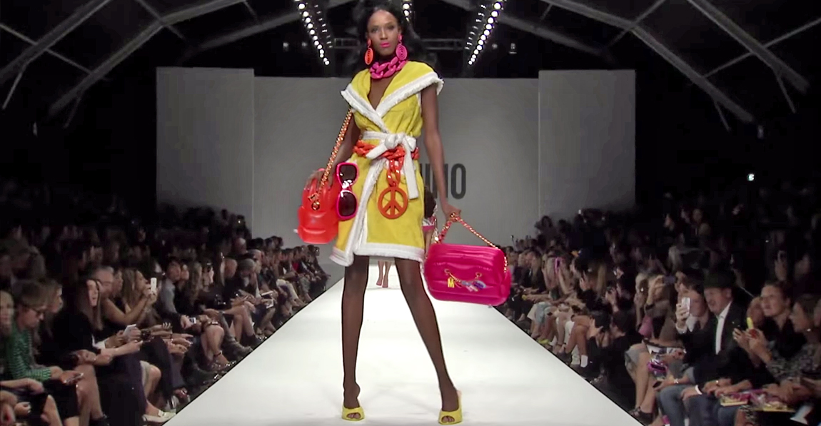 Moschino Barbie Fashion Show 7