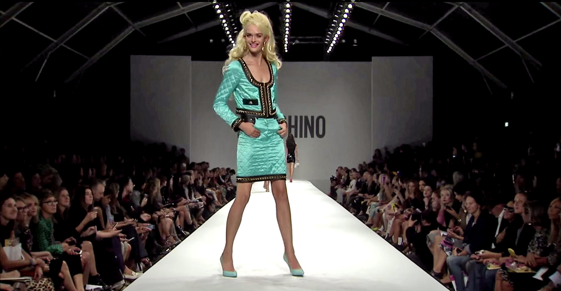 Moschino Barbie Fashion Show 10