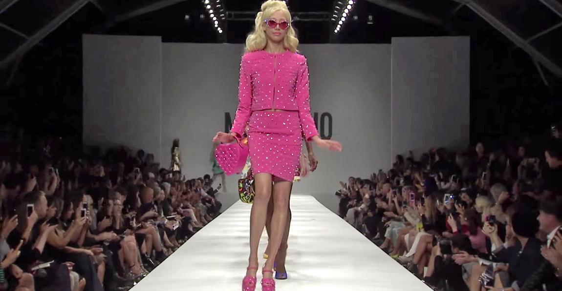 Moschino Barbie Fashion Show 12