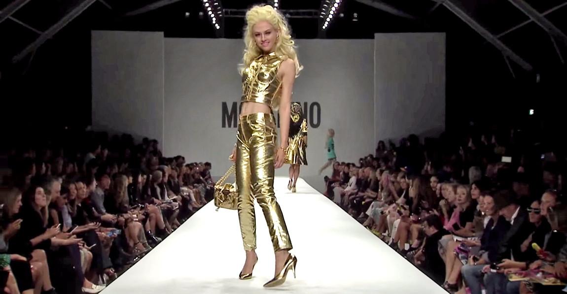Moschino Barbie Fashion Show 13