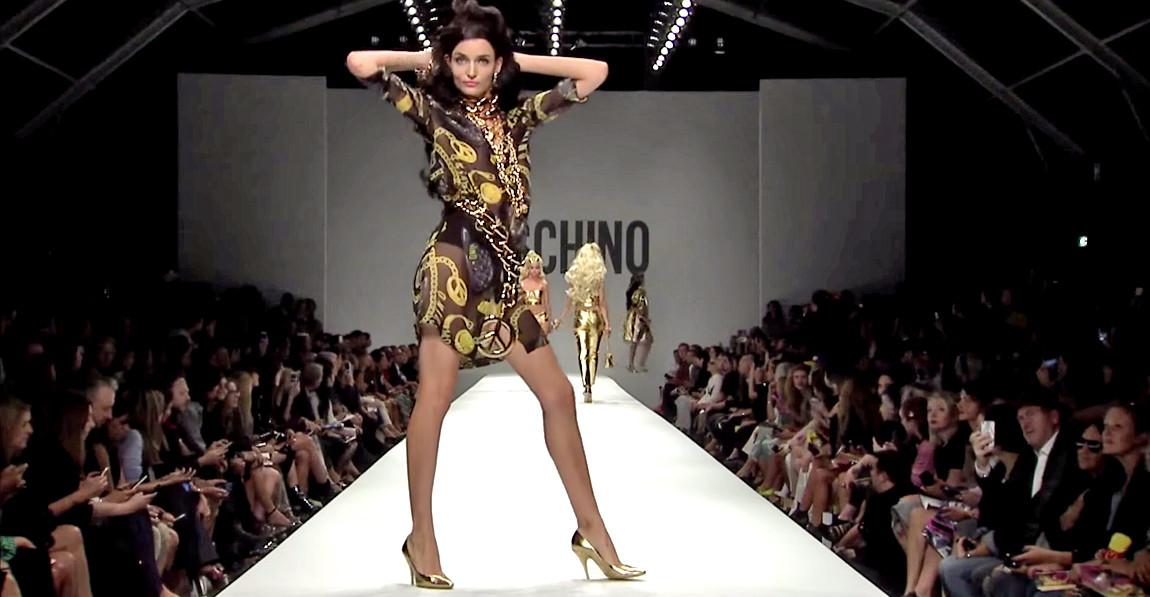 Moschino Barbie Fashion Show 15