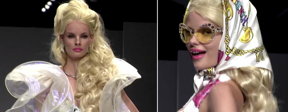 Moschino Barbie Fashion Show 19