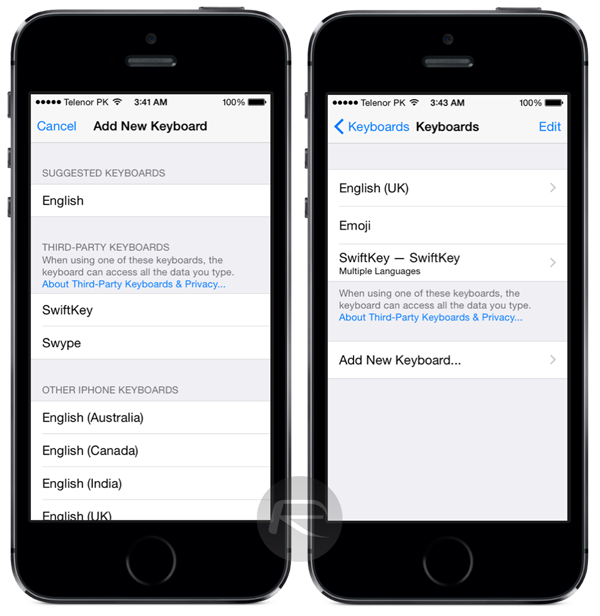 Best iOS 8 Third-Party Keyboards: How to Install