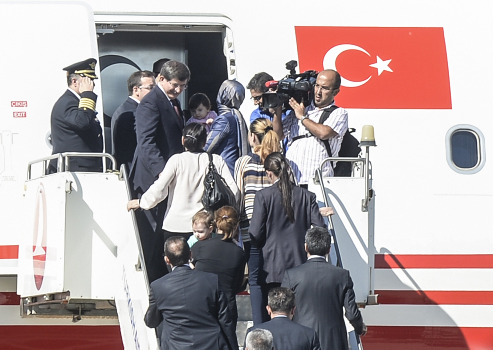 Turkish hostages freed without ransom payment and armed confrontation