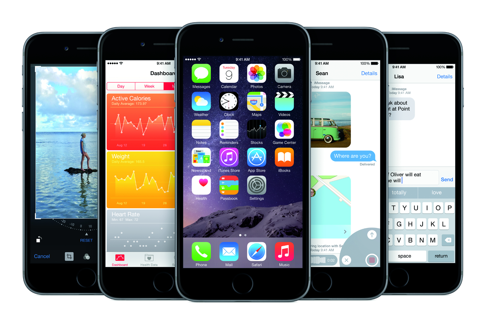 iPhone 6 line-up