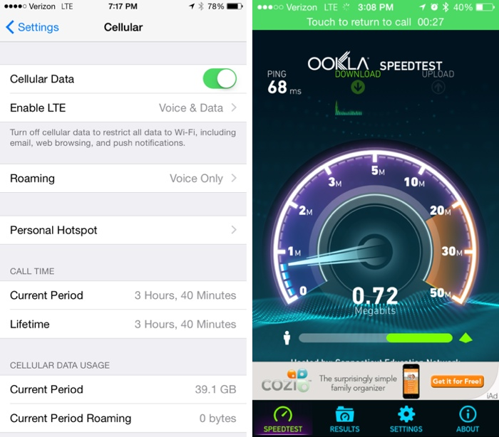 iPhone 6 and iPhone 6 Plus: How to Make HD Voice Calls while Surfing Web via Verizon's VoLTE