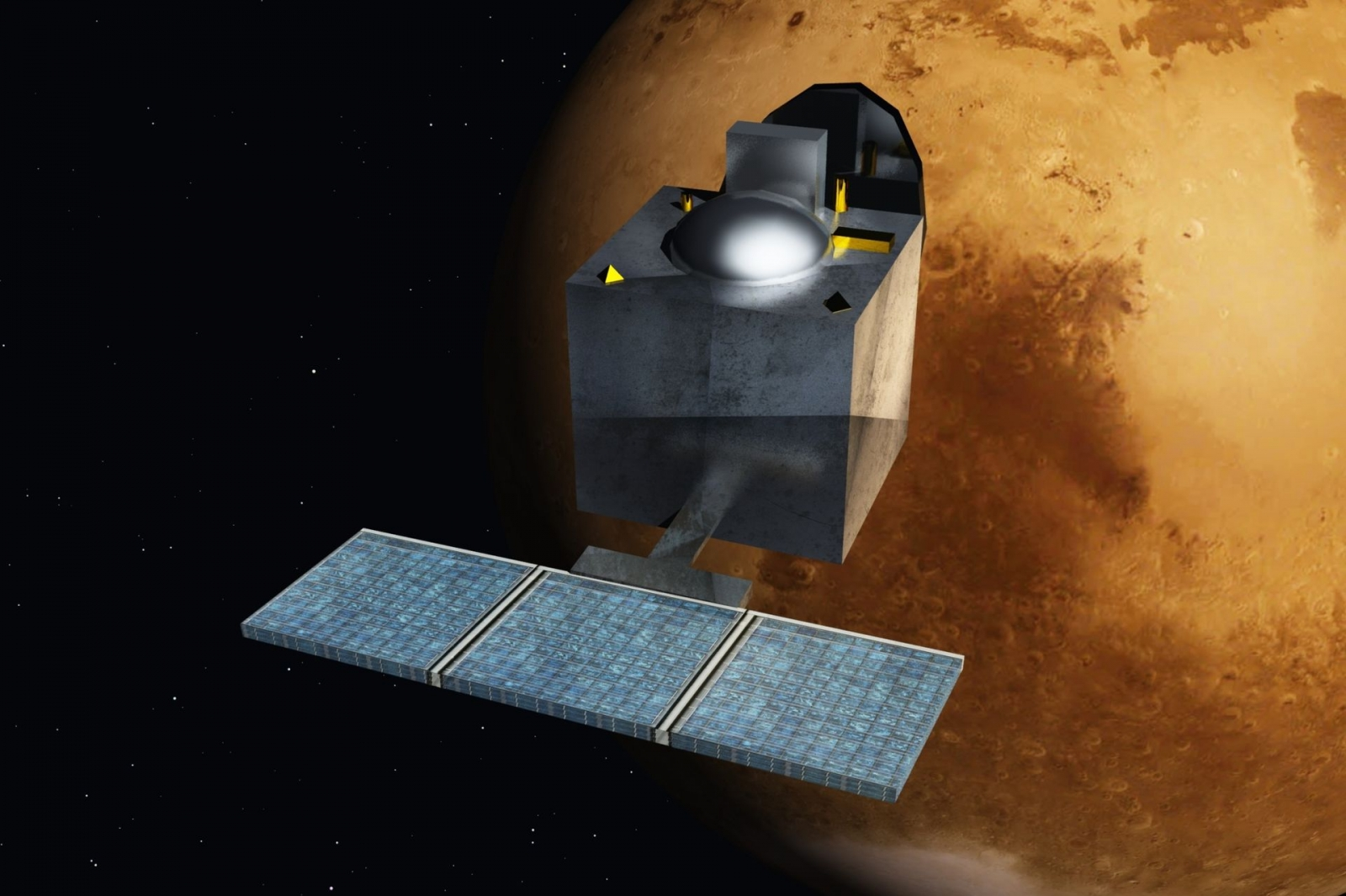 India's Mars Craft MOM All Set For Orbit Insertion - Isro